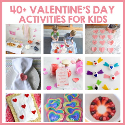 Valentine's day crafts, treats, and activities for kids