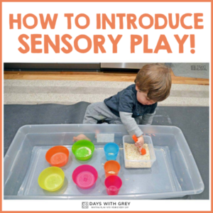 How to Introduce Sensory Play