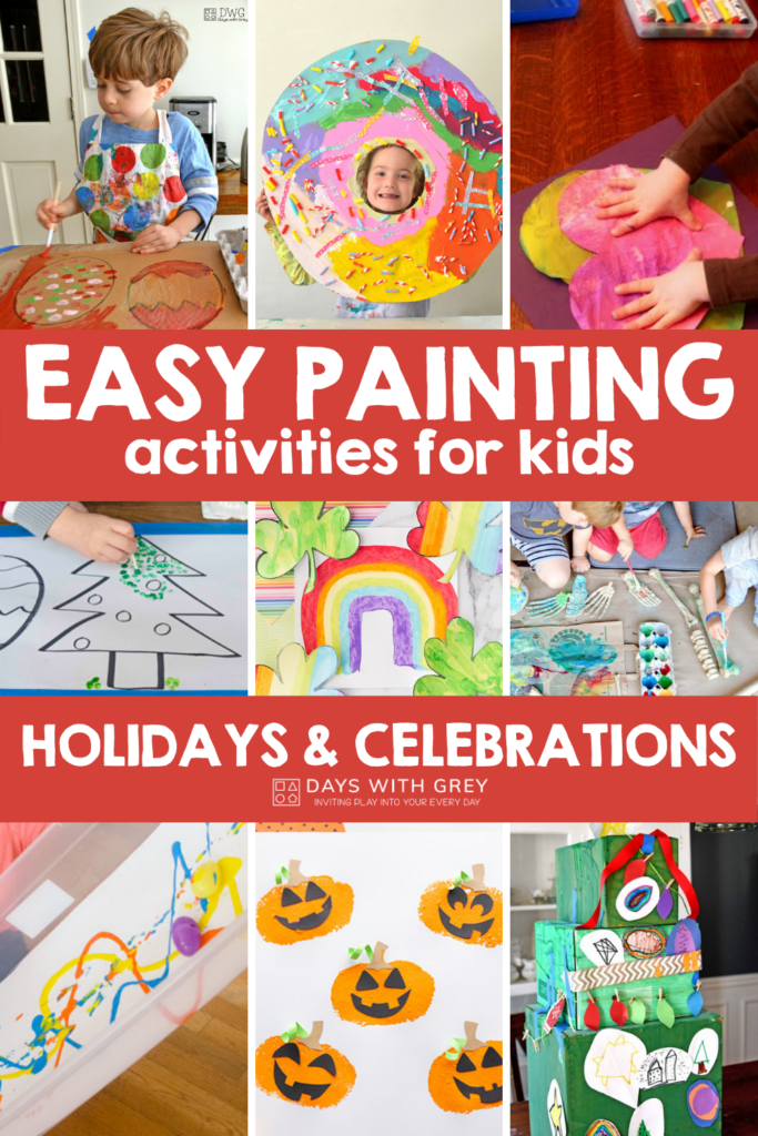 painting ideas for holidays and celebrations