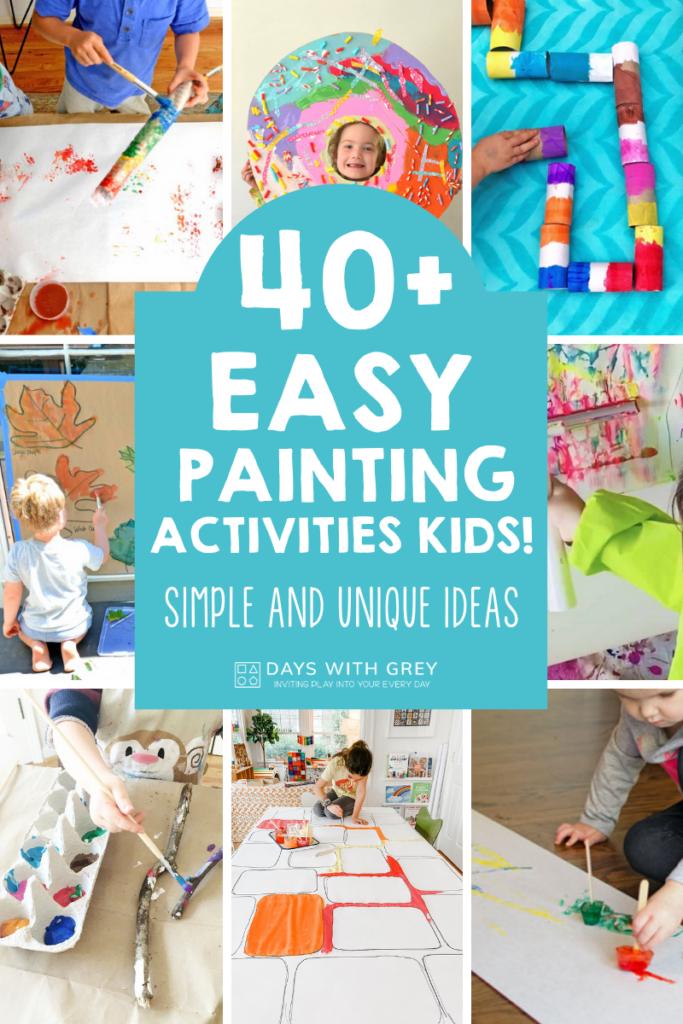 fun painting ideas kids love