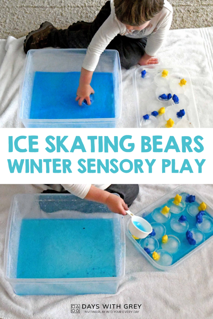 ice and water play for kids