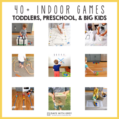 40+ Indoor Games for Kids