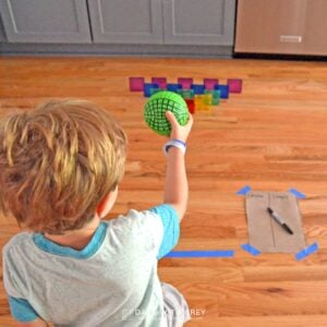 Magnetic Tiles Bowling