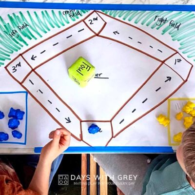 baseball board game for kids