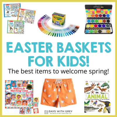 non candy Easter ideas for kids