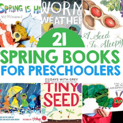 list of spring books for kids