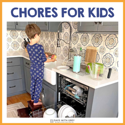 good chores for kids