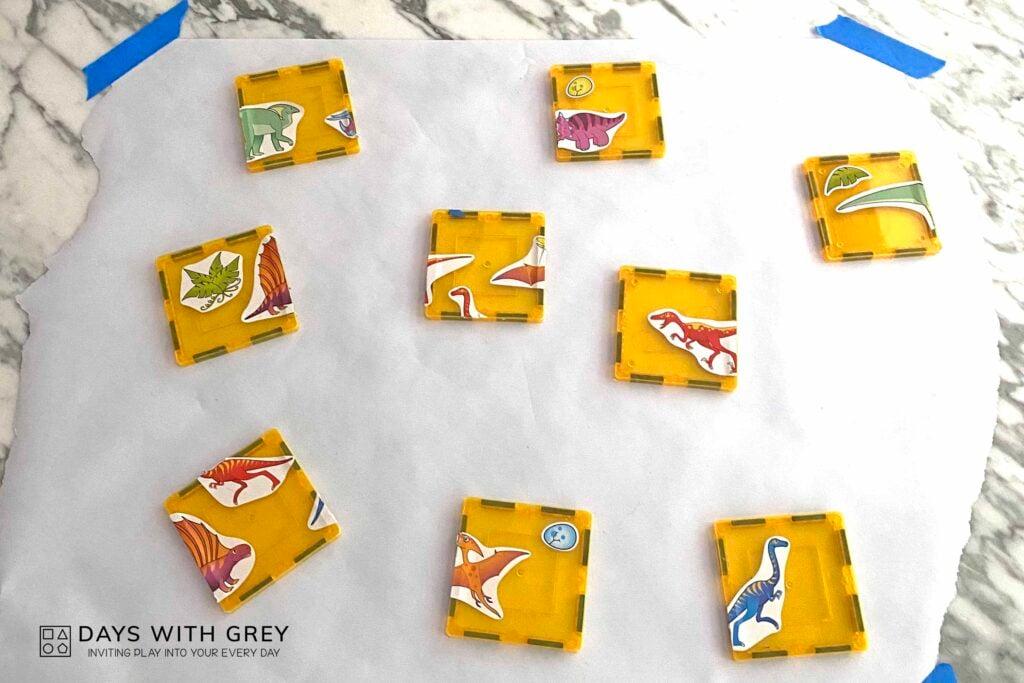 preschool puzzle activity