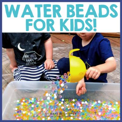 20 water bead activities