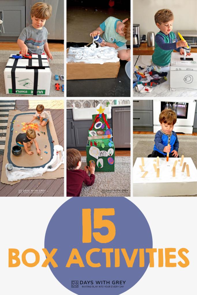 cardboard ideas for kids