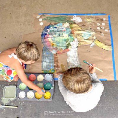 simple painting idea