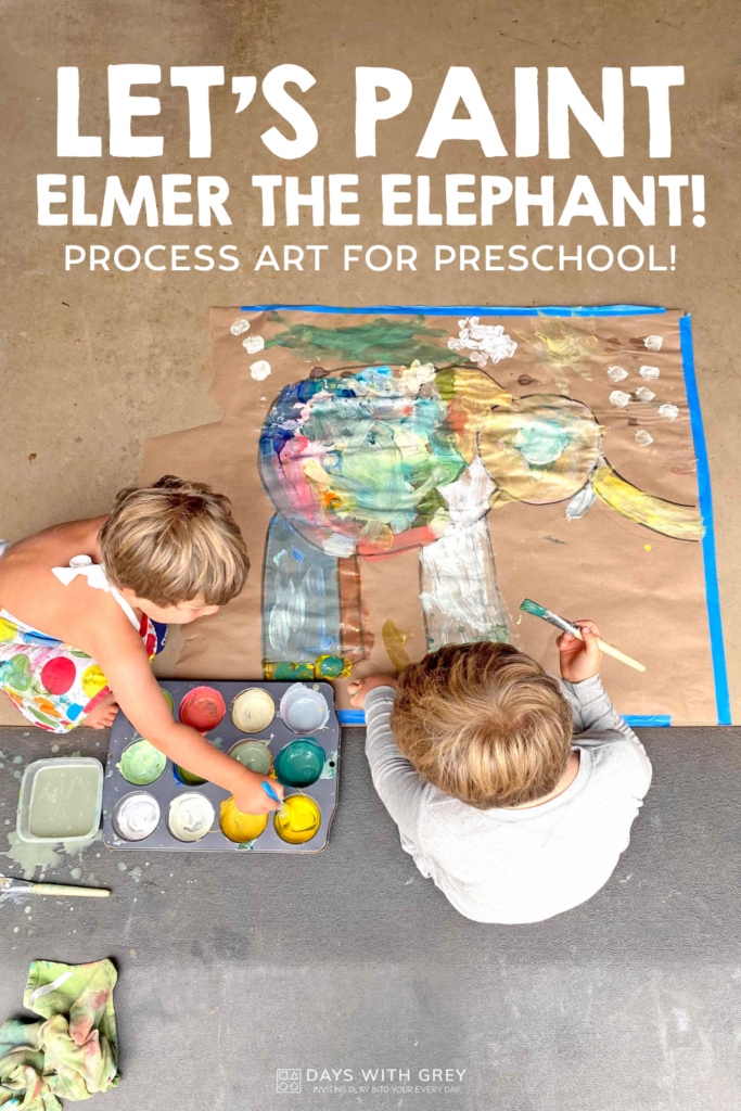 simple painting activity for kids