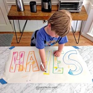 Name Posters for Kids!