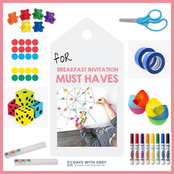 favorite supplies for learning games