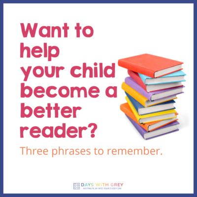 benefits of reading with child