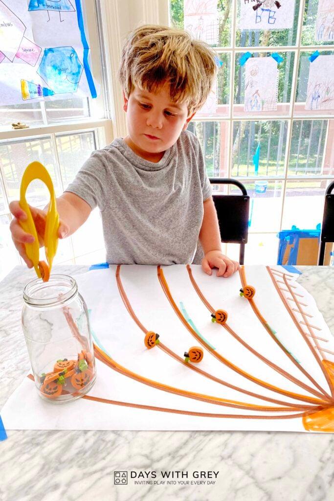 indoor fall activity for preschool