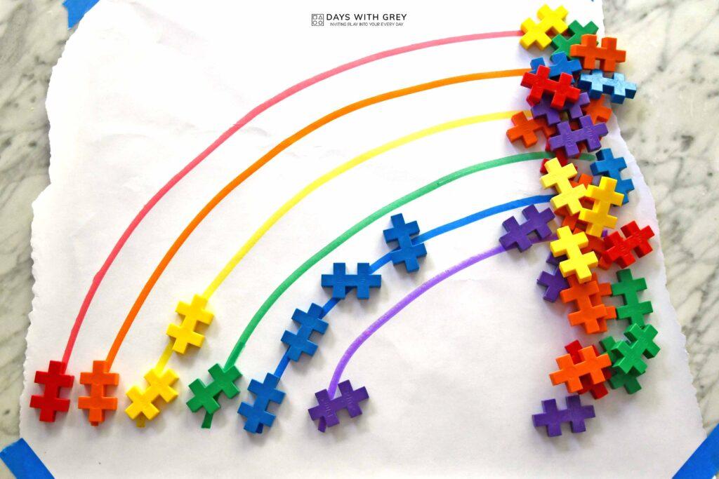 preschool color sort