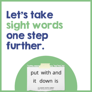 How to Decode Sight Words