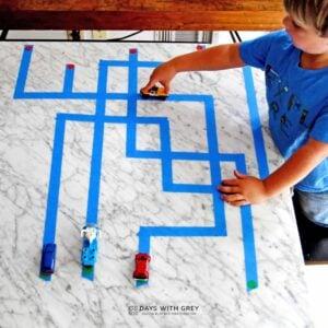 Preschool Tape Maze