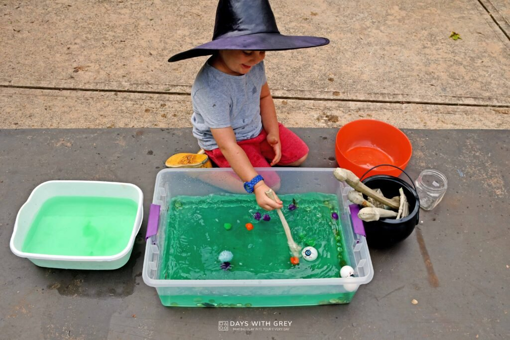 Preschool Halloween activity